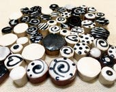 Black and White Ceramic M...