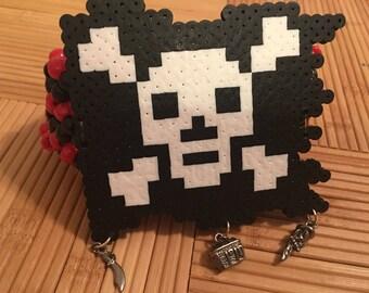 Pirate kandi cuff