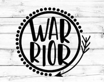 Warrior SVG - PNG, Arrow Svg, Mom Svg, Tribal Svg, Svg Files for Cricut, Svg for Silhouette, Svg for Cricut