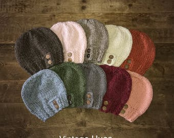 Chunky Slouchy Hats