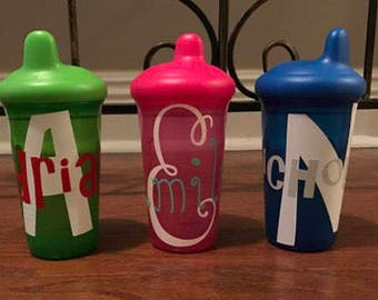 Birthday Sippy Cups