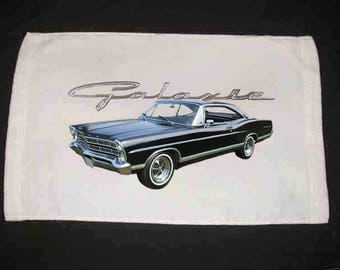 New 1967 Ford Galaxie hand towel! FREE DOMESTIC SHIPPING!!