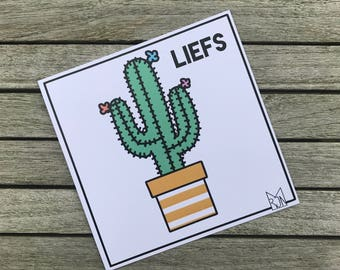 Love | Cactus-Love by the letterbox