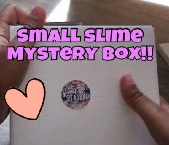 Squishy And Slime Mystery Box : Small slime mystery box See item details for more