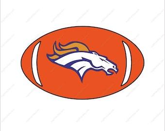 Denver Broncos svg football svg bundle party Svg Dxf Eps Png Ai Digital File design Print Mug Shirt Decal