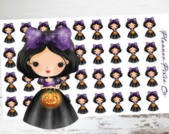 Princess Planner Stickers // Halloween // Trick or Treat
