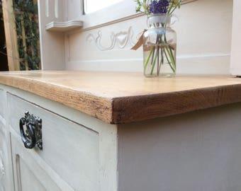 NOW ** SOLD ** Vintage Oak Sideboard / Dresser