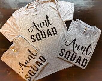 Aunt Squad Shirt