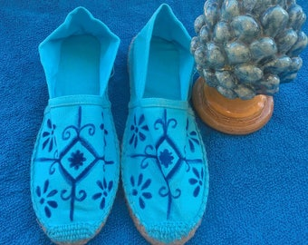 Hand Painted ESPADRILLES