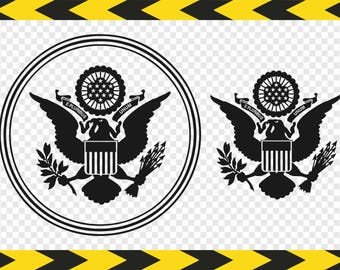 Patriotic SVG files for Cricut Clipart E pluribus unum Coast guard Eagle Dxf Pdf Png