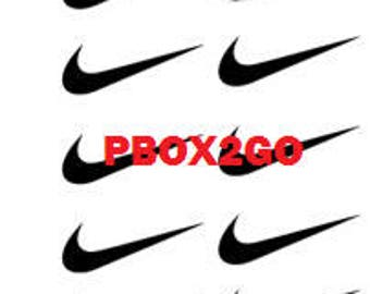 26 Nike swoosh decals