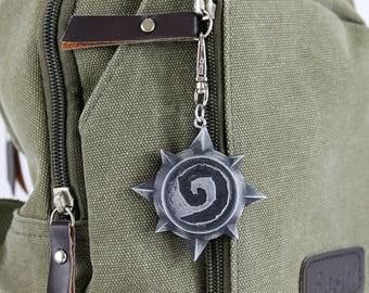 Hearthstone Symbol Aluminum Keychain/Necklace