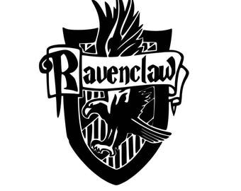 harry potter coloring pages pdf | Harry Potter Ravenclaw PDF Coloring Page