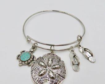 Sand Dollar  Bracelet