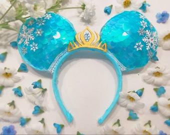 Frozen/Elsa Mouse Ears