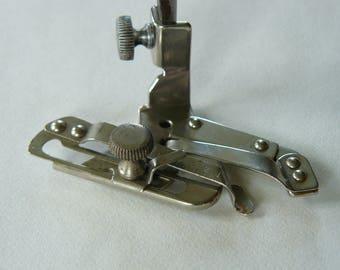 Vintage Singer Simanco Adjustable Hemmer Sewing Foot No.35931, Low Shank, Craft, Part, Stitch, 99K, Original