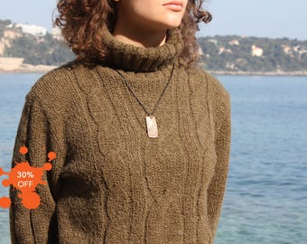 "Necklace ""SHARK"" - in Bronze - by Beli"