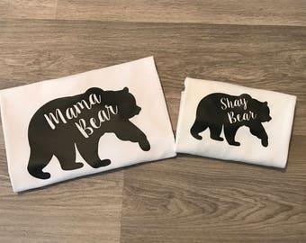 Mama Bear & Baby Bear Tops - MUMMY TOP