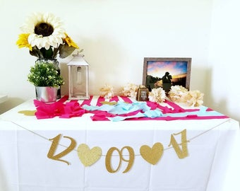 Save The Date Banner | Save the Date Sign | Wedding Banner | Wedding Date Banner | Wedding Date Sign | Engagement Sign | Save the Date