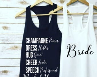 Maid of Honor Shirt / MOH / Bride Shirt / Wedding Day Shirt / Bachelorette Shirt / Bridal Party Shirt / Bridesmaids Shirts