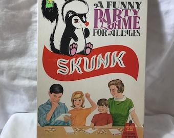 1968 Skunk Game, Schaper games. Complete