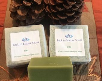 Pine organic soap plus FREE SHIPPING