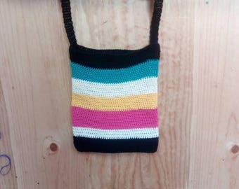 Handmade crochet bag, cotton bag, tote bag