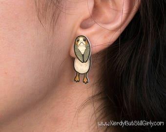 Porg Cling Earring