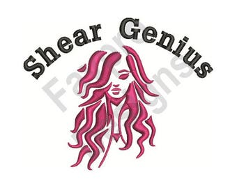 Shear Genius - Machine Embroidery Design