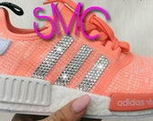 Custom Adidas Nmd R1 Shoes Adidas Sneakers Original Raw Orange Shoes Authentic Womens Trainers
