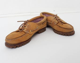 Timberland Brown Suede Shoes
