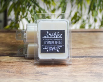 Soy Wax Melts, Lavender Fields, Lavender Soy Wax Melts, Lavender Soy Melts, Lavender Scented Melts, Wax Melts, Natural Wax Melts