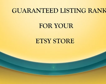 Etsy Listing - SEO - Intensive Listing Analysis Critique - GUARANTEED Rise in Rankings - Title Tags - Description - Optimization - Keywords