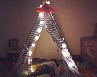 Teepee | home decor | kids play room | nursery decor | kids tent | boho tent | playhouses | playroom, play tent , indoor tent, tipi,