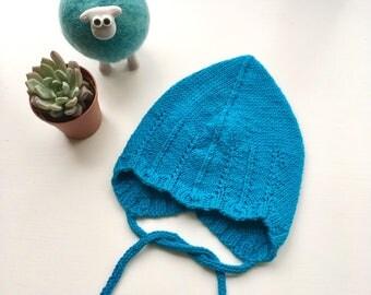 Rane Bonnet - Norwegian inspired devil cap pixie newborn baby bonnet