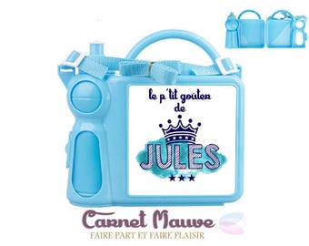 Personalized boy lunch box