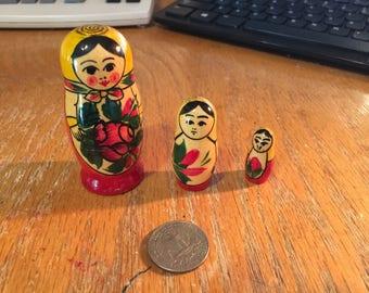 Wood Nesting Dolls Small