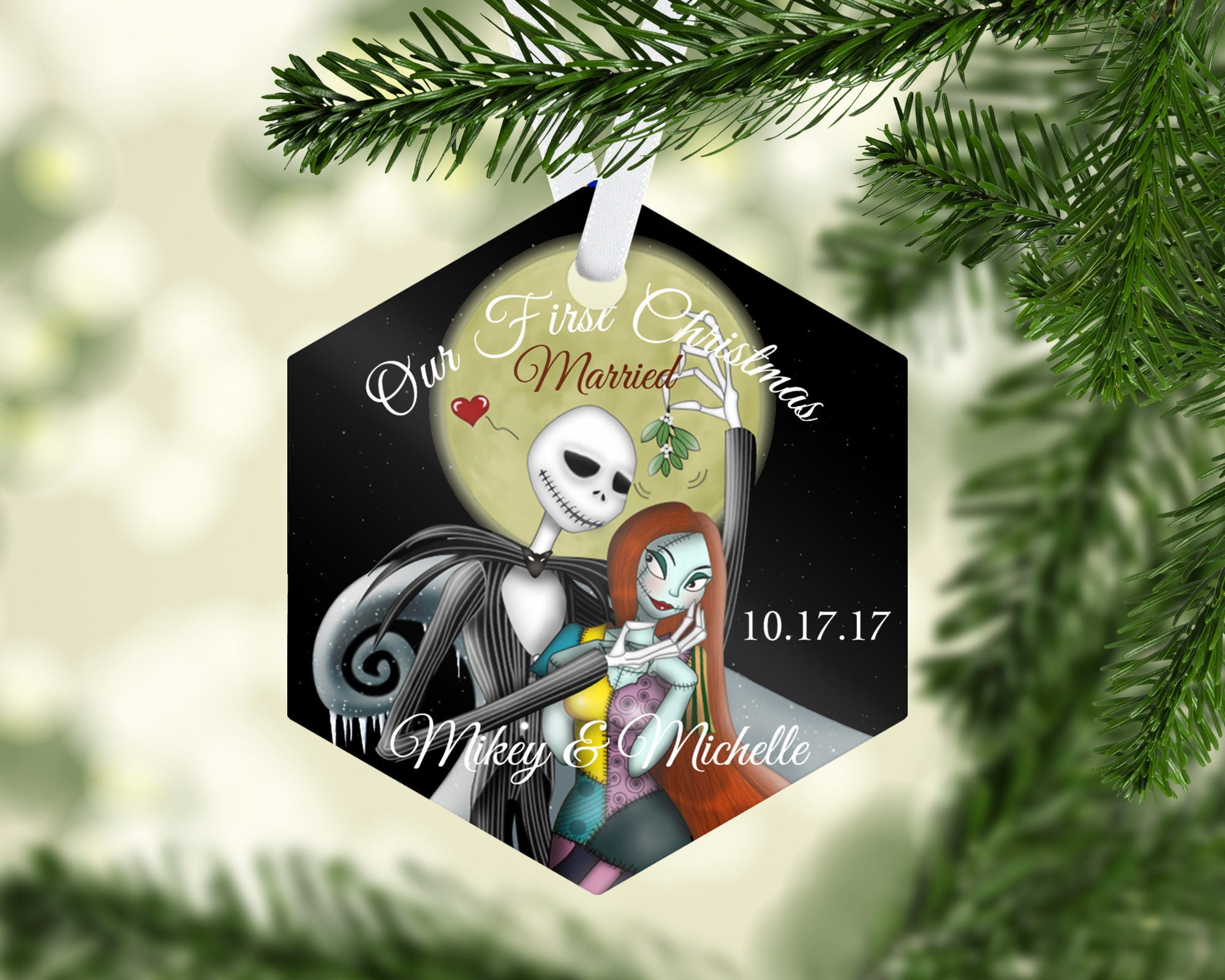 Holiday Ornament Christmas Ornament Wedding Ornament
