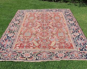 Antique Persian Rug - Serapi Heriz Rug
