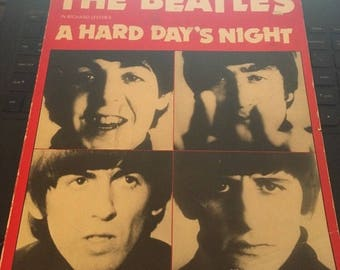 The Beatles- A Hard Day's Night, A Complete Pictorial of the Movie 1978