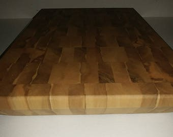 Spalted oak cutting board