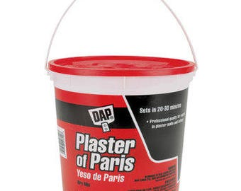 Plaster of Paris 8 Pound Tub-White