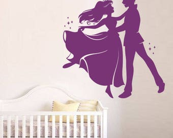 """Princess and her Prince to prom"" decal"