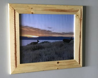 Rustic Pine Picture Frame 16x20