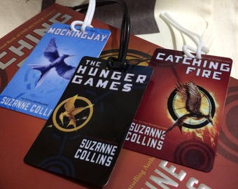 Hunger Games Bookmark / Luggage Tag