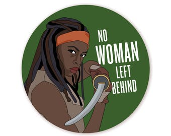Feminist Michonne Sticker