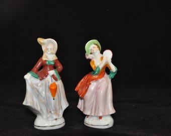 Japan Figurine, Ladies in hats