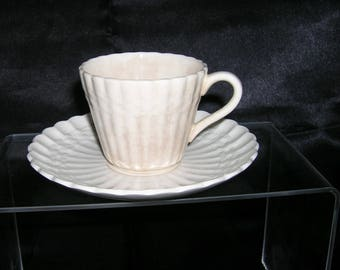 Vintage SPODE Wicker Tea Cup and Saucer