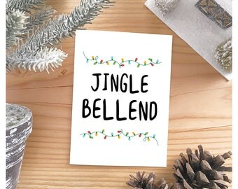 Christmas Card - Holiday Card - Xmas Card - Rude Adult Funny - Boyfriend Girlfriend