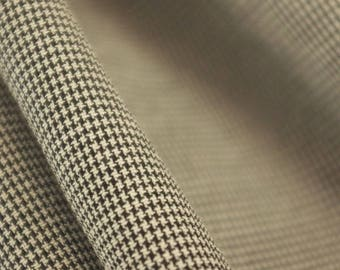 Ultra Fine Dogtooth Fabric - 58 Inches Wide